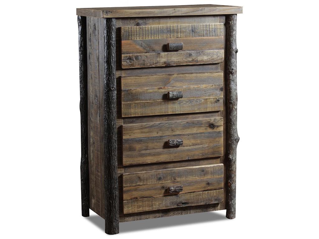 Wildwoods Barnwood Hickory BedroomChest