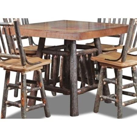 Counter Height Gathering Table