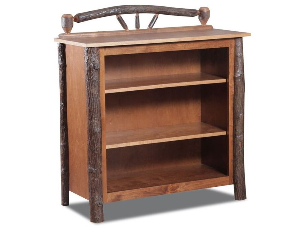 Wildwoods Home OfficeHickory Small Bookcase