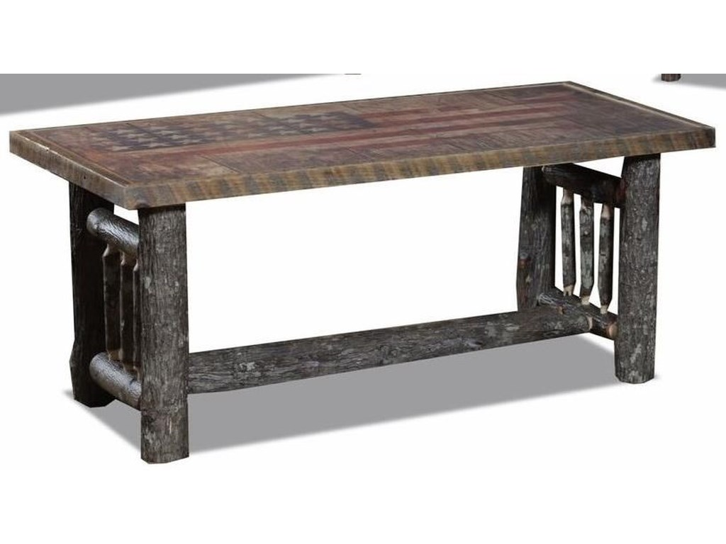 Wildwoods Hickory SpindleCoffee Table