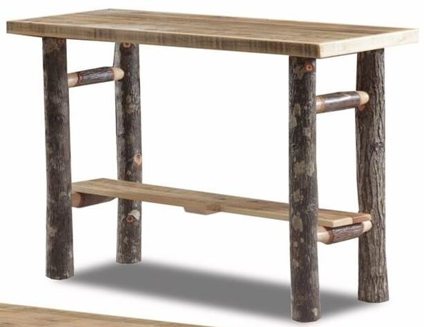Wildwoods Hickory SpindleSofa Table ...