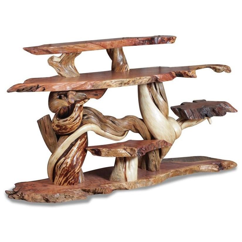 Wildwoods Reclaimed RedwoodSmall Artisan Sofa Table