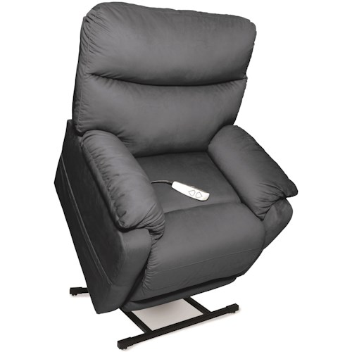 Windermere Motion Lift Chairs Three-Position Lift Chaise Recliner with USB Wand