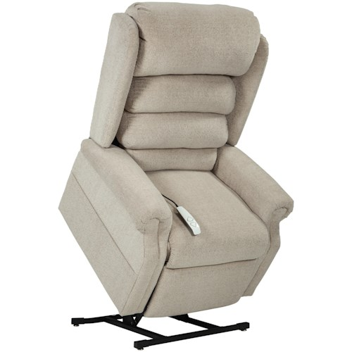 Windermere Motion Lift Chairs 3-Postion Lift Chaise Lounger with USB and Zone Heating