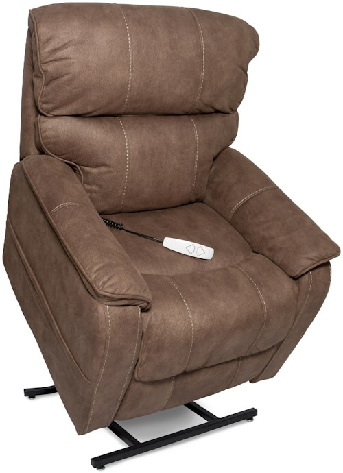 Windermere Motion Lift Chairs Three-Position Lift Chaise Recliner