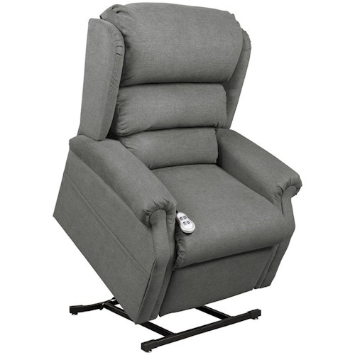 Windermere Motion Lift Chairs Cosmo Chaise Lounger with Power Headrest