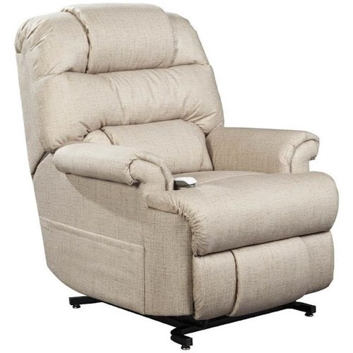 Windermere Motion Lift Chairs Three Position Power Lift Recliner with Bustle Back