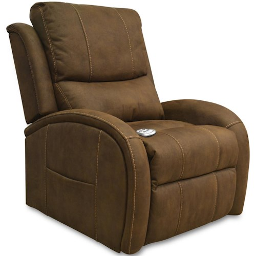 Windermere Motion Lift Chairs Casual Contemporary Power Recline Lift Chair with Adjustable Headrest