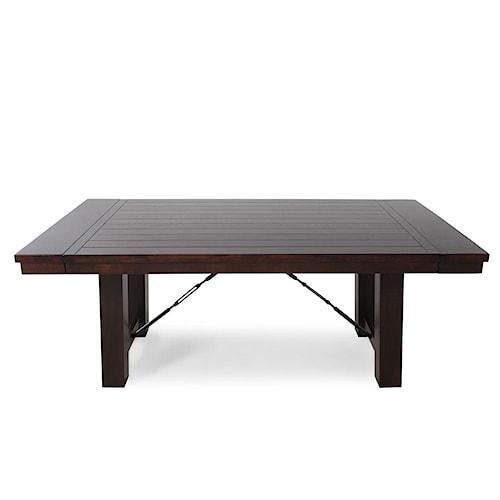 Winners Only Regis Pedestal Table w/ 2-12