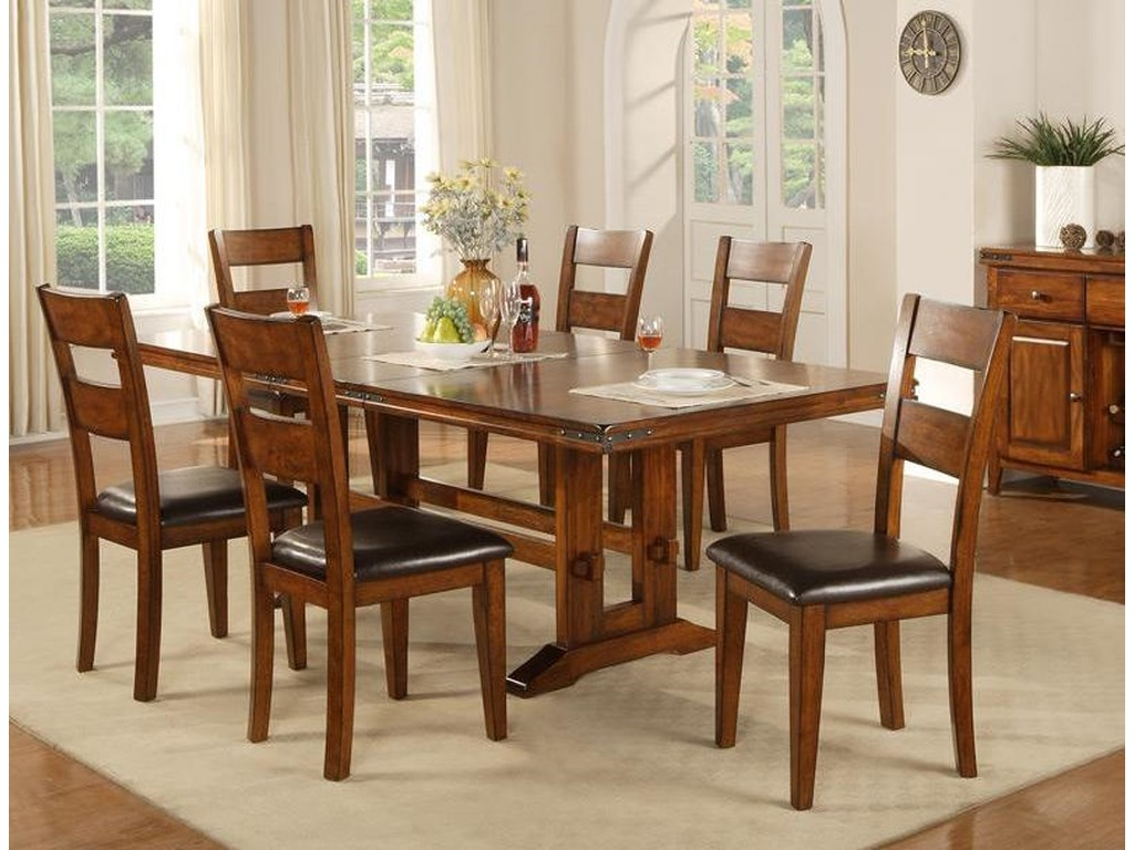 Colton 7 Piece Pub Table And Barstool Set Rotmans Dining 7 Or