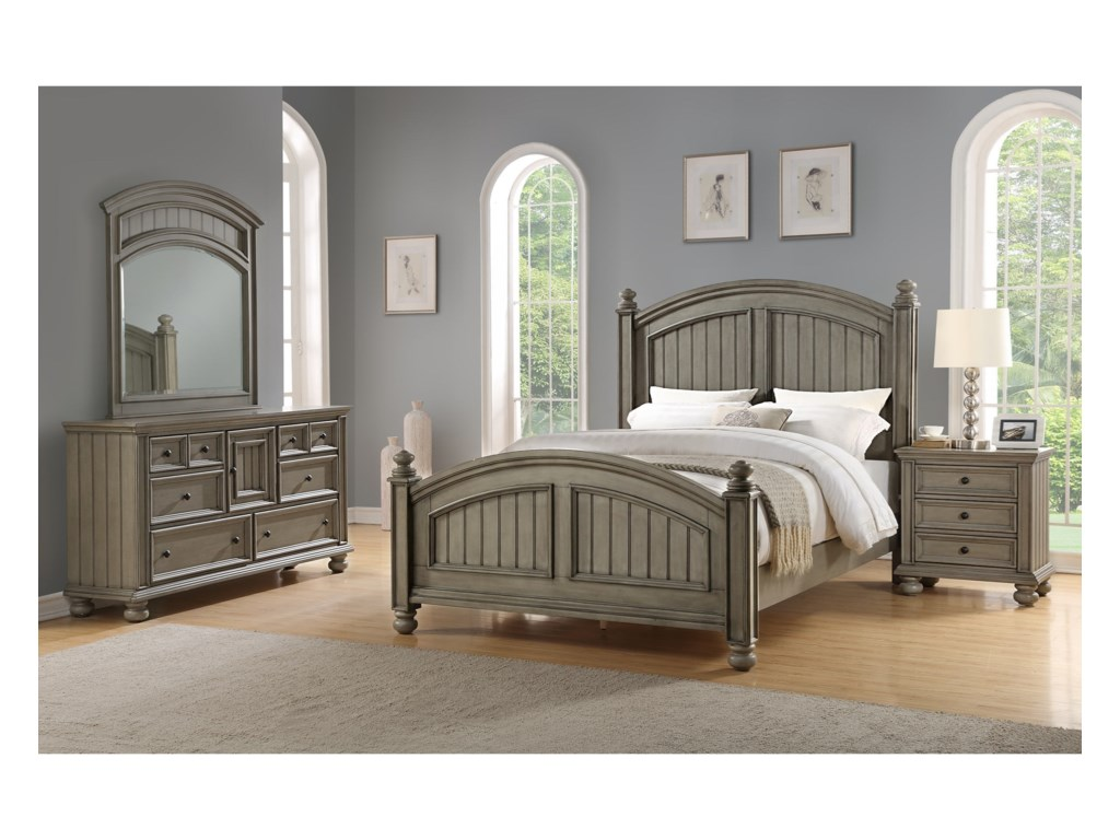Winners Only BarnwellKing Bedroom Group