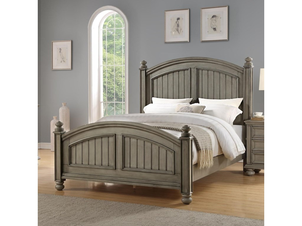 Winners Only BarnwellCalifornia King Panel Bed