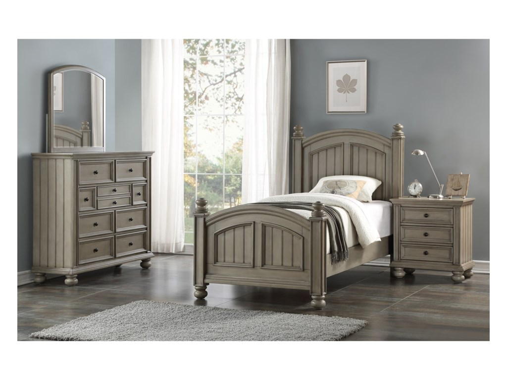 Winners Only BarnwellTwin Panel Bed