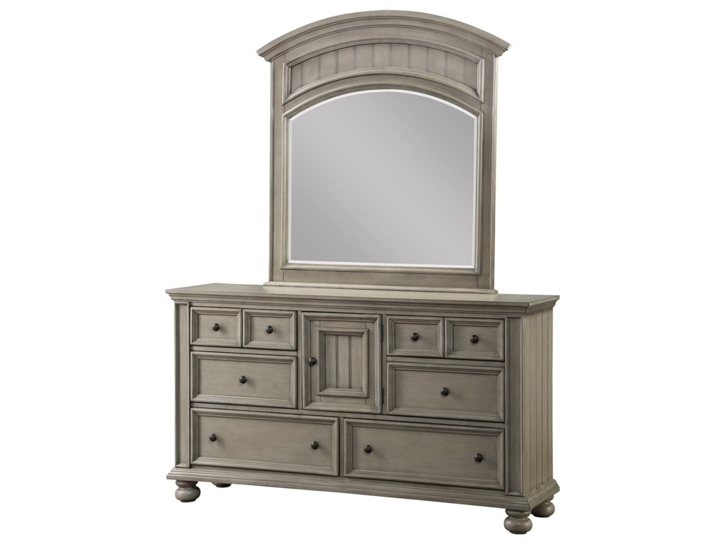 Winners Only Barnwell6-Drawer Dresser and Mirror