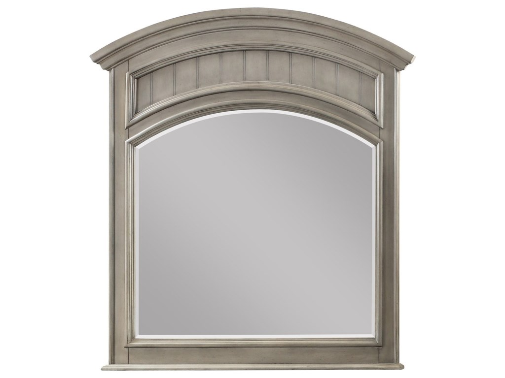 Winners Only BarnwellDresser Mirror with Arched Top