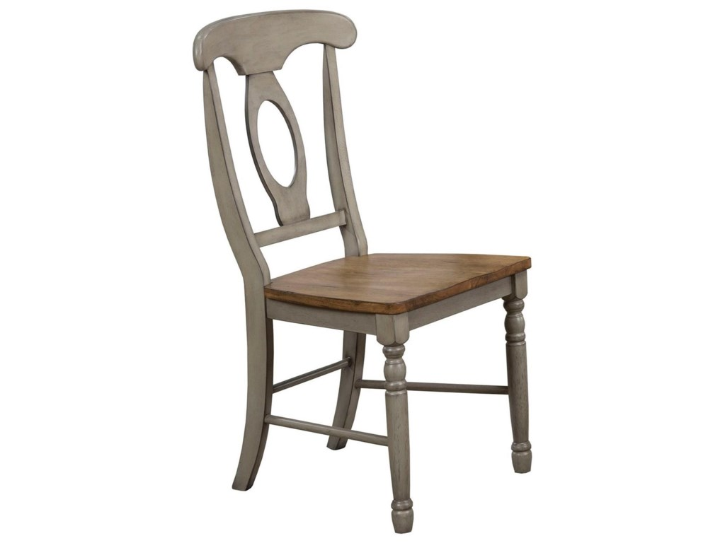 Winners Only Brayden - GreyNapoleon Side Chair