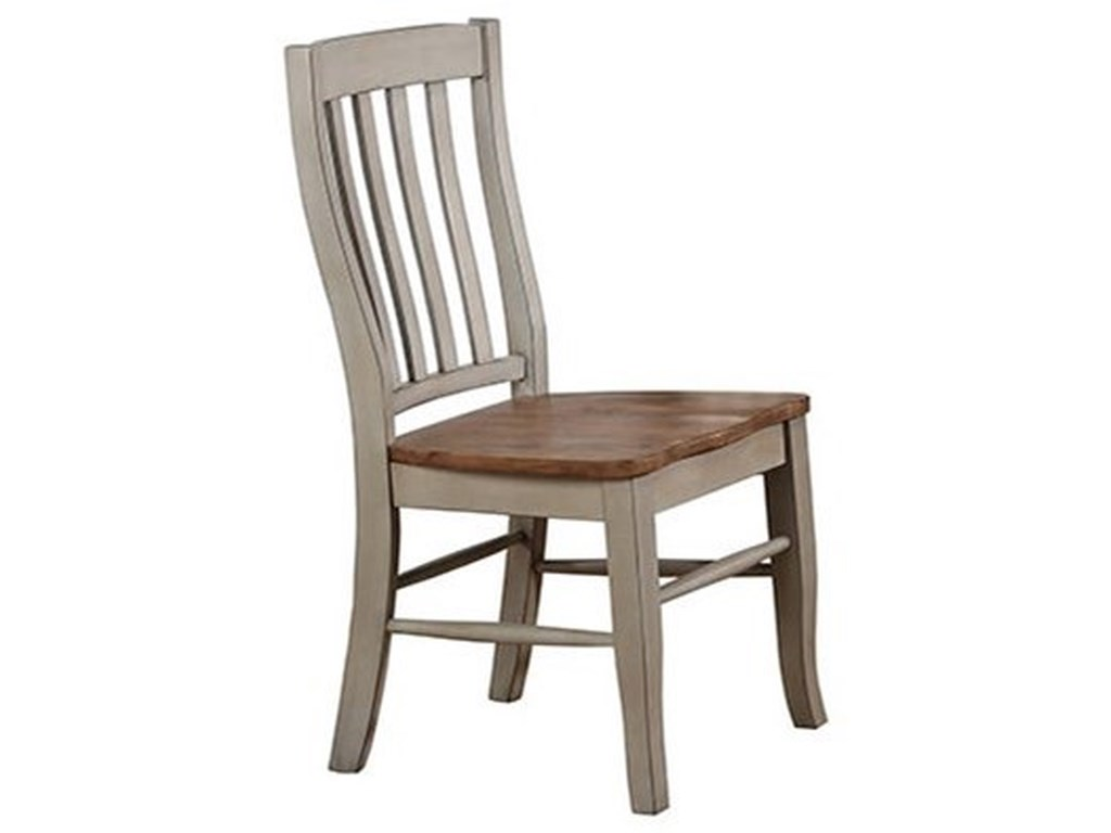 Barnwell Rake Back Side Chair by Winners Only at Dean Bosler's