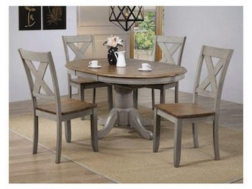 Winners Only BarnwellTable & 4 Chairs