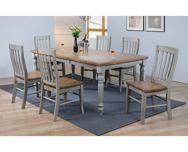 Winners Only Barnwell 7 Pc Dining Set | Dunk & Bright Furniture ...