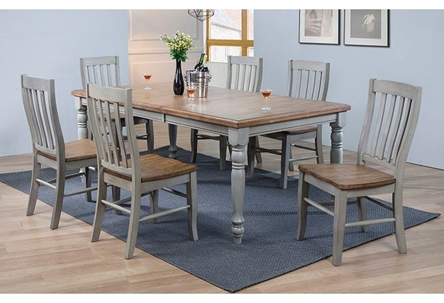 Winners Only Barnwell 7 Piece Dining
