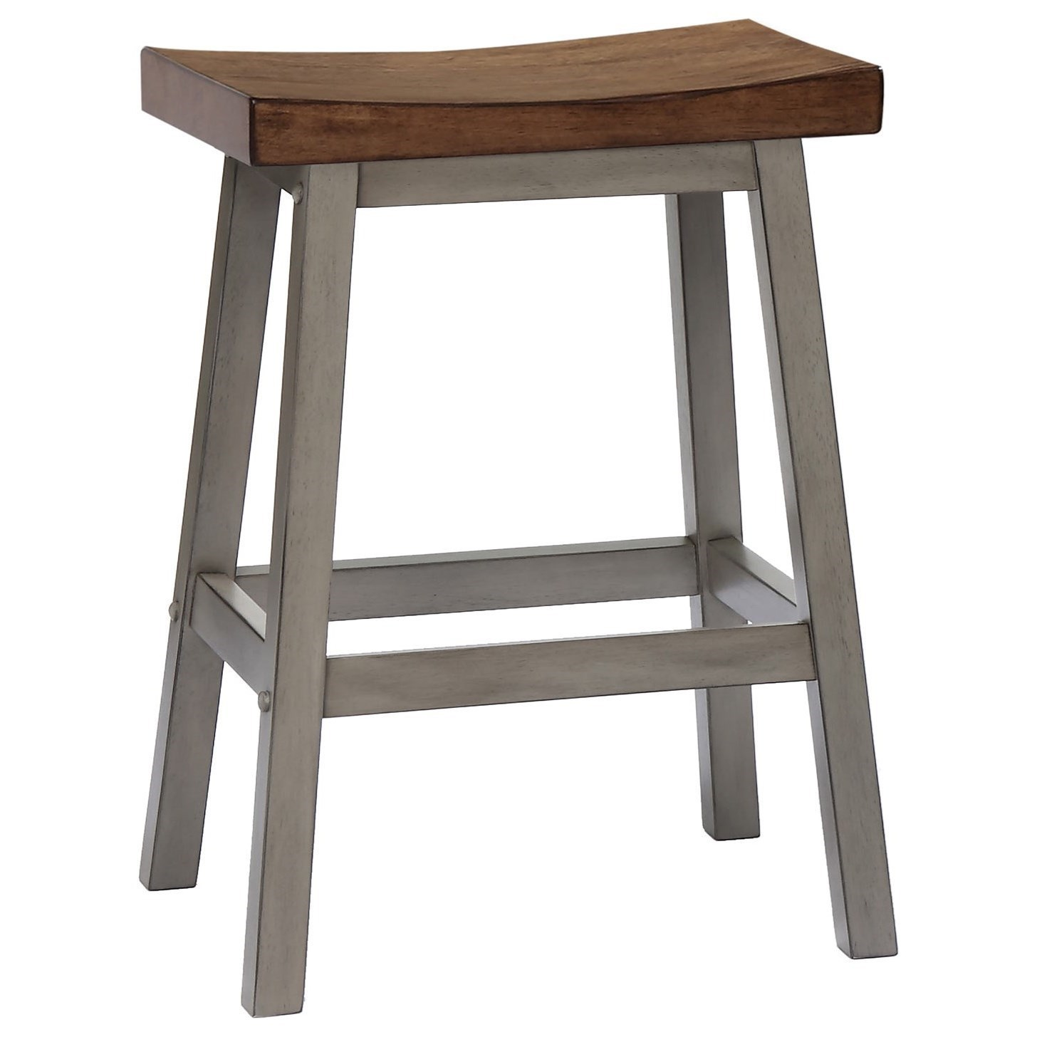Winners Only Brayden   GreyCounter Height Stool