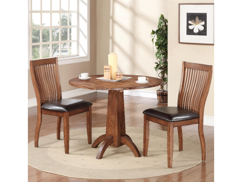 Winners Only Broadway3 Piece Dining Set