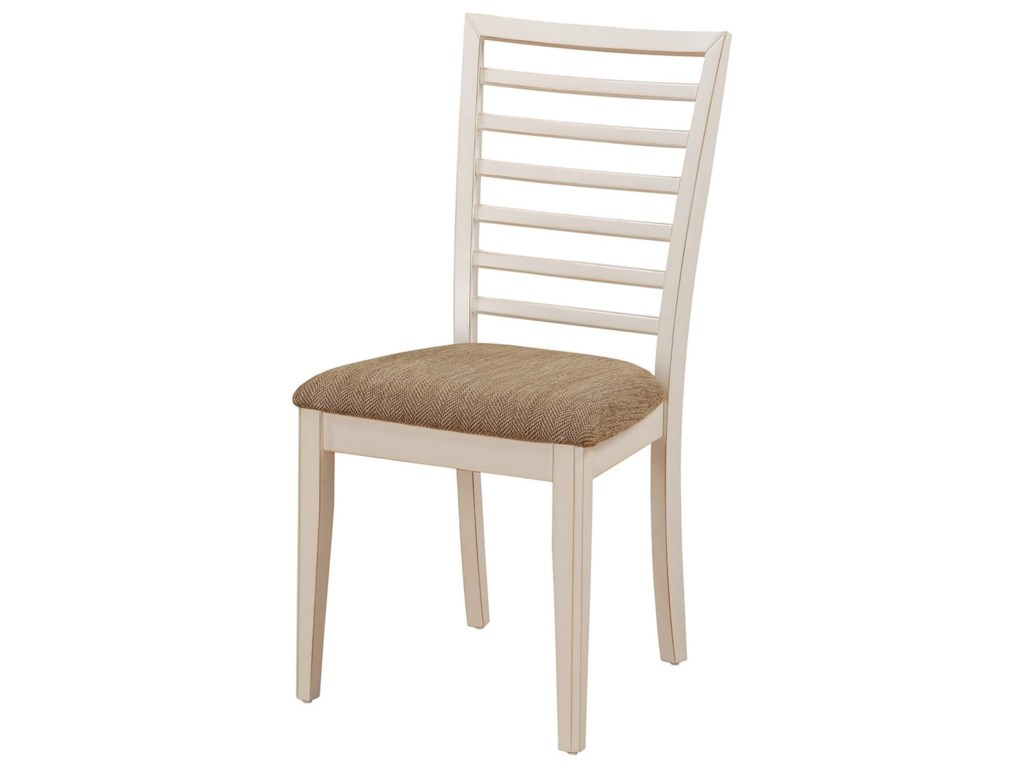 Winners Only BrownstoneLadder Back Side Chair