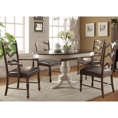 Cambridge 5 Piece Dining Set With 18 Butterfly Leaf Rotmans Dining 5 Piece Sets Worcester