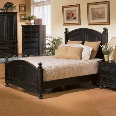Winners Only Cape Cod Be1001tn2 Transitional Panel Twin Bed With Bun