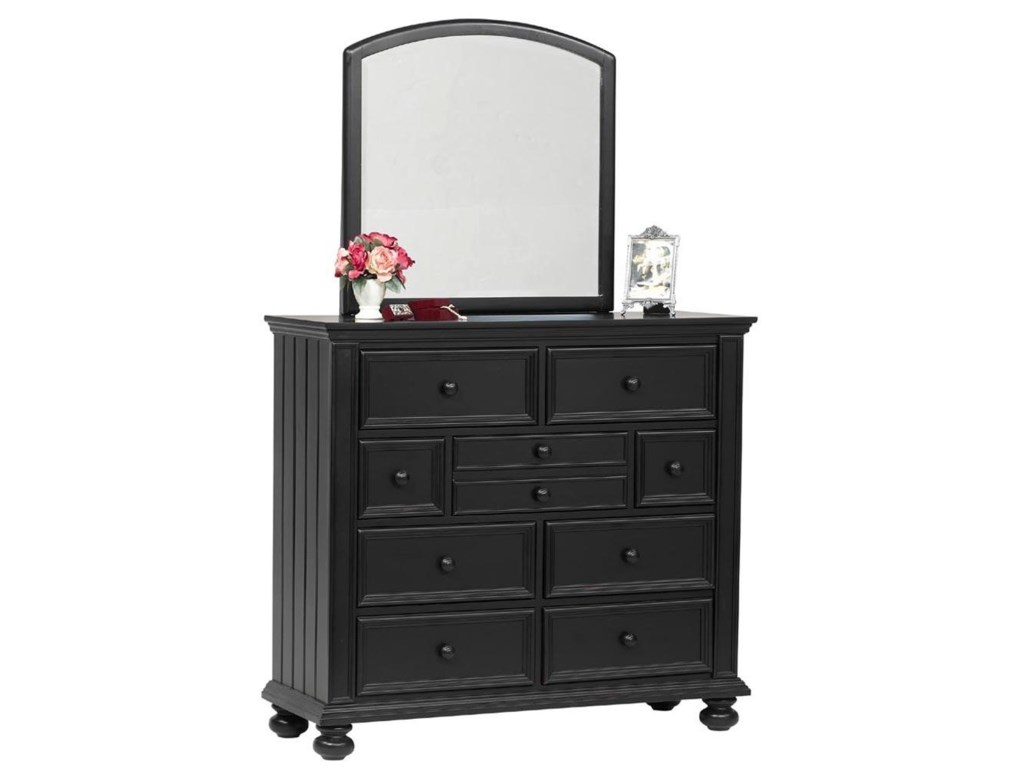 Winners Only Cape Cod Youth Tall Nine Drawer Dresser