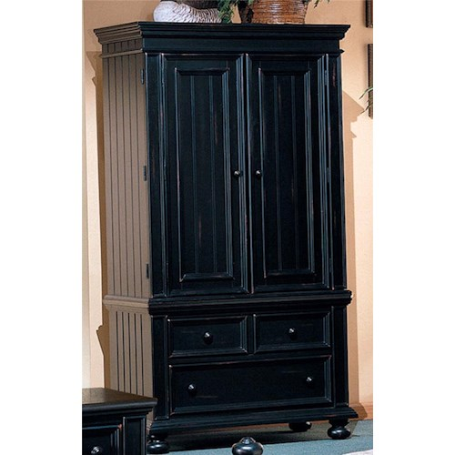 Winners Only Yarmouth Two Door Armoire with Three Drawers