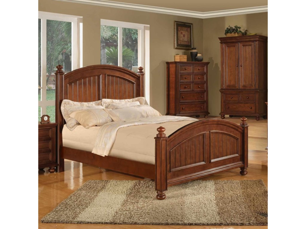 Winners Only Cape CodPanel California King Bed