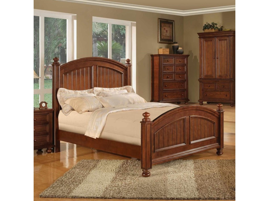 Winners Only Cape CodPanel Queen Bed