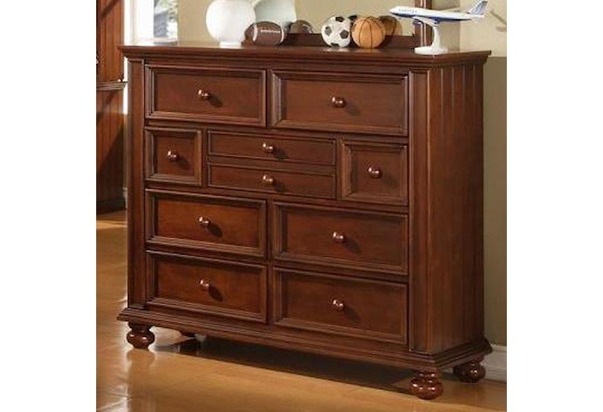 Bg1006yn Youth Tall 9 Drawer Dresser