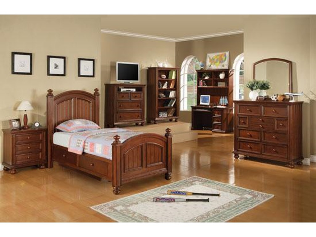 Winners Only Cape CodYouth Tall Nine Drawer Dresser