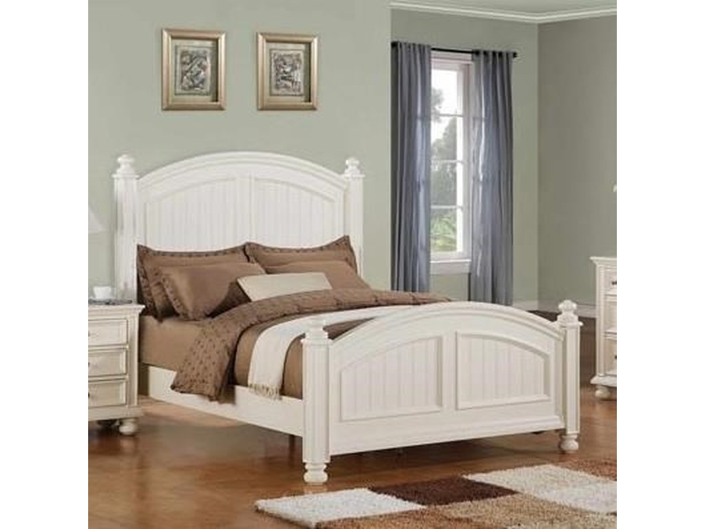 Winners Only Cape Cod Panel California King Bed