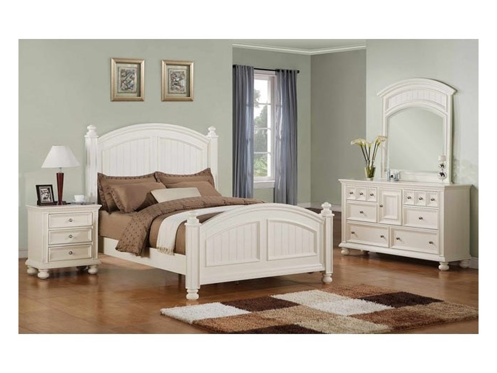Winners Only YarmouthPanel King Bed