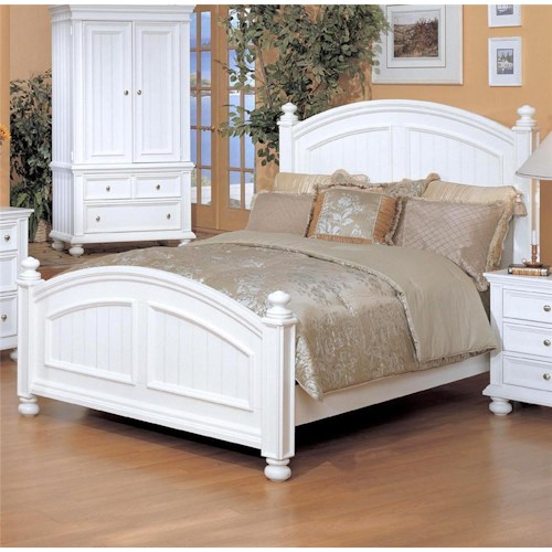 Winners Only Yarmouth King Panel Bed
