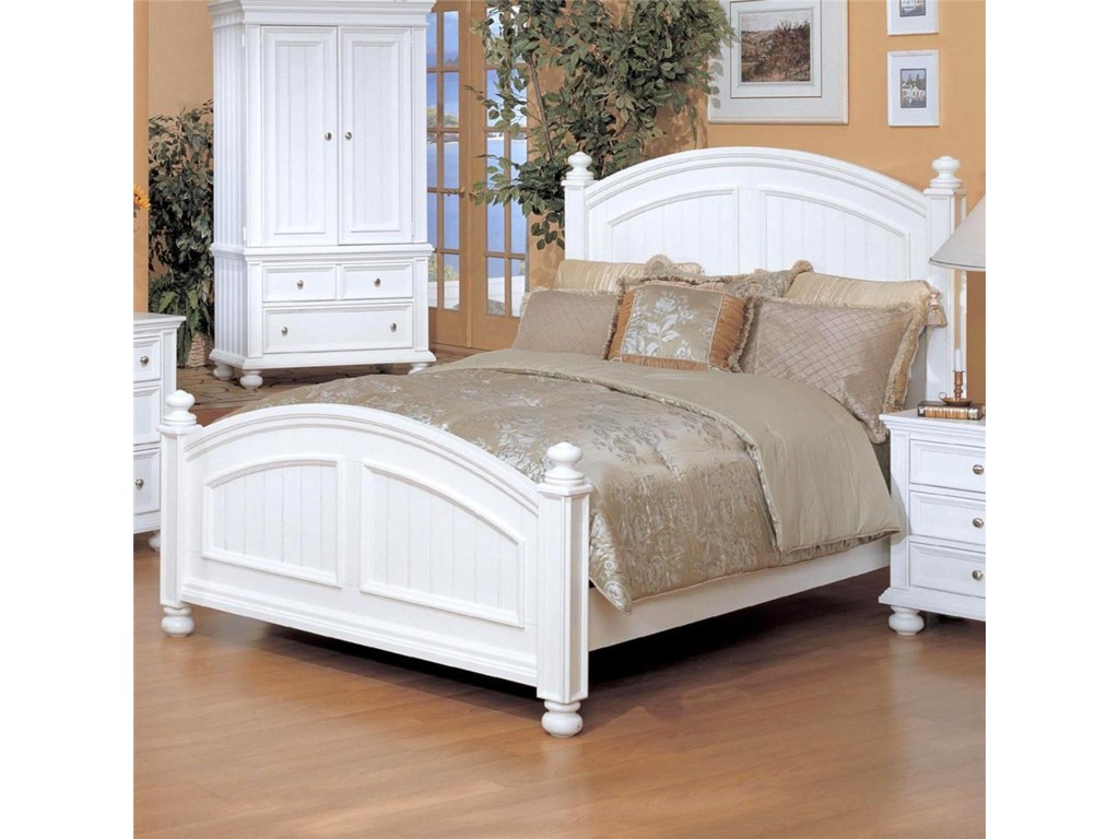 Winners Only Cape Cod King Panel Bed