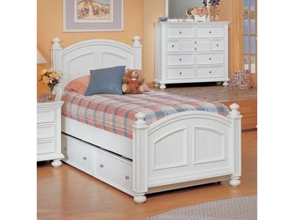 Winners Only Cape Cod Panel Twin Bed