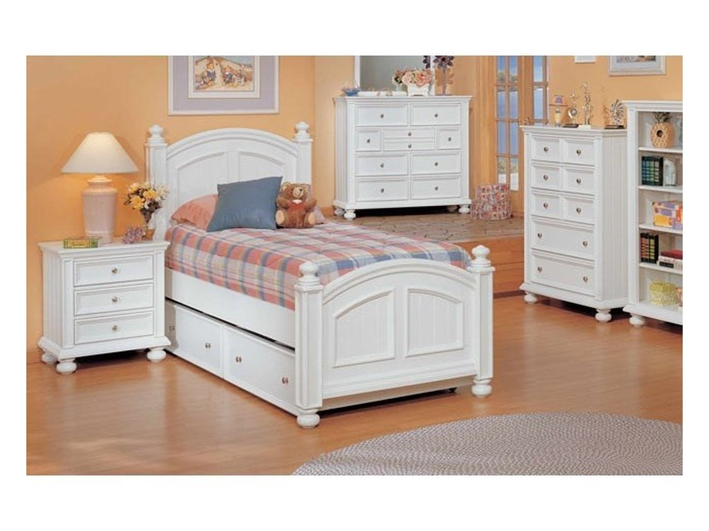 Winners Only Cape Cod Panel Full Bed