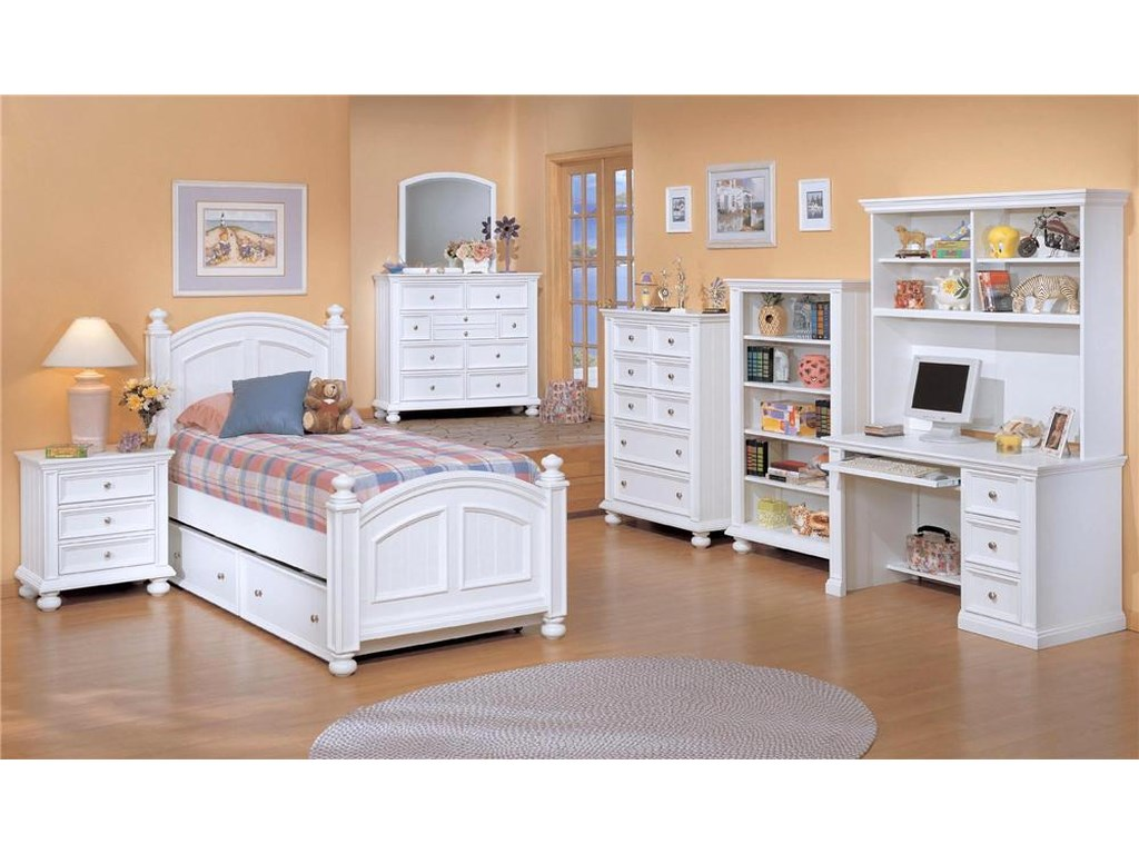 Winners Only Cape Cod Three Drawer Night Stand