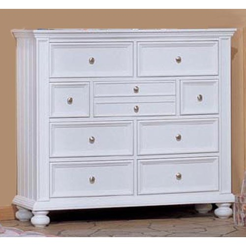 Winners Only Yarmouth Youth Tall 9 Drawer Dresser