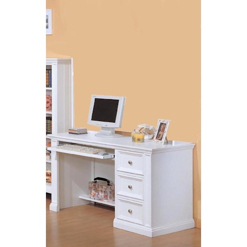 Winners Only Yarmouth Youth Desk with Keyboard Pullout Drawer