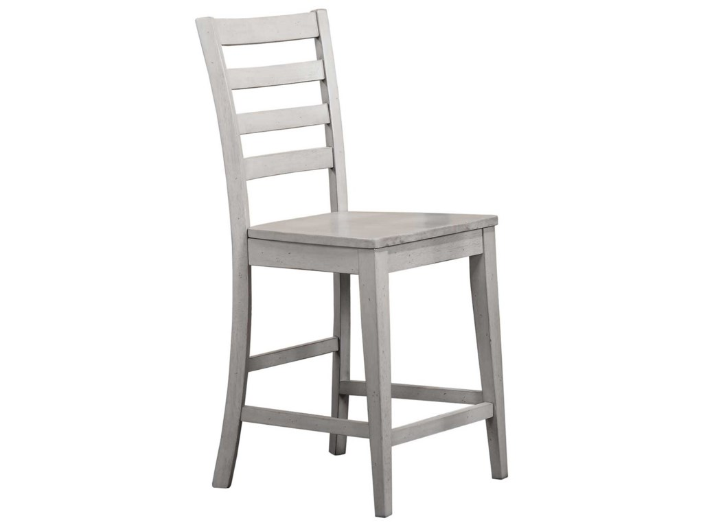 Winners Only CarmelLadder Back Barstool