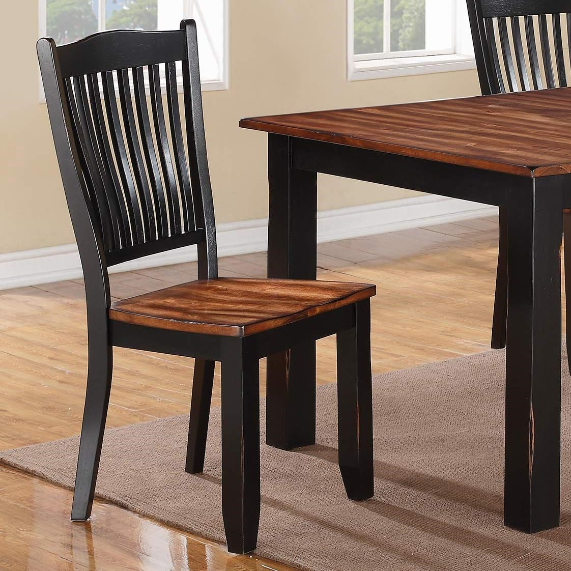 Slat Back Chairs winners only carson slat back side chair - boulevard home
