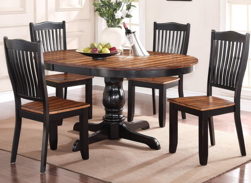 winners only carson 5 piece dining set with slat back chairs winners only carson 5 piece dining set with slat back chairs darvin furniture dining 5 piece sets