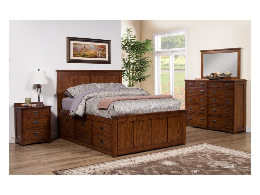Winners Only ColoradoCalifornia King Storage Bed
