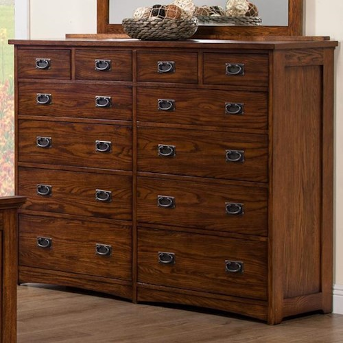 12 Drawer Chest ~ Colorado tall drawer dresser rotmans