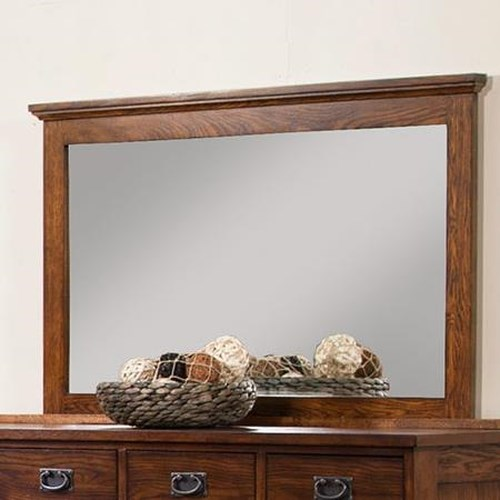 Winners Only Colorado Dresser Mirror with Mantle Frame